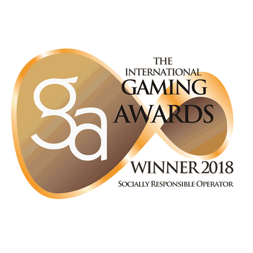 Gaming Awards winner 2018 - Socially Responsible Operator