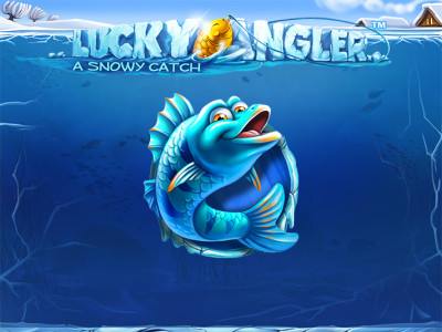 Lucky Angler A Snowy Catch