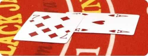 Blackjack Doubling Down strategy