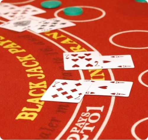 Blackjack doubling down use