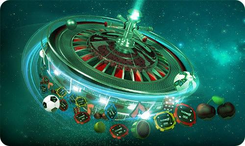 Spinning roulette table bonus