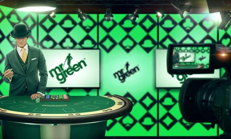 Mr Green's Live Casino