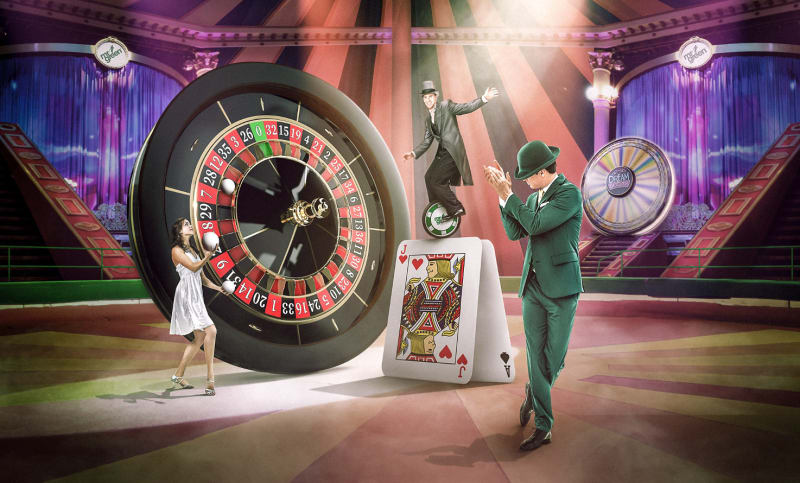 Try your fun on Live Casino for a chance to win BIG at the Big Top